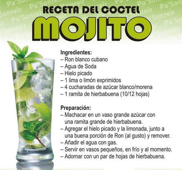 mojito cubano receta original